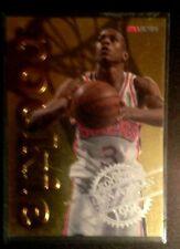 Allen Iverson 1996 NBA HOOPS EMBOSSED  GOLD FOIL ROOKIE CARD #12 NrMnt/MNT