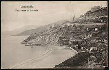 AX0171 Imperia - Provincia - Ventimiglia - Panorama da Levante - Old postcard