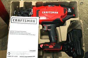 CRAFTSMAN CMCN616C1 V20 Cordless Finish Nailer COMBO NEW OPEN BOX