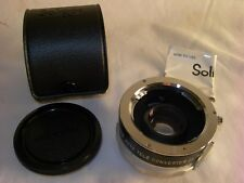 Soligor 2X Auto Tele Converter For Minolta MD Manual Focus & Case