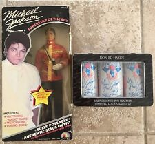 Michael Jackson Superstar of the 80s Action Figure Doll + Pepsi Soda Cans