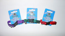 3 Sheppard & Greene Collars - Ferret or Tiny Dog Collar w Bells - 3 Colors