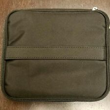 Bare Escentuals Black Zippered Train Case w/2 Removable Zip Bags (2 pack)