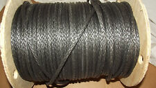 "NEW 5/16""x 200' Dyneema Winch Line, Synthetic Pulling Rope, 12-Strand Braid"