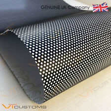 30CM x 120CM Headlight Tint Perforated Film Mesh Like Fly Eye MOT Legal Tinting