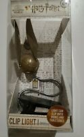 Harry Potter Wizarding World Golden Snitch Clip Light new, unopened