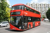 New bus for London - Borismaster LT464 6x4 Quality Bus Photo