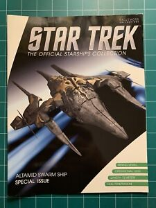 Eaglemoss Star Trek Starships Altamid Swarm Ship & Magazine Special Edition New