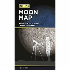 Philip's Moon Map,Very Good Condition
