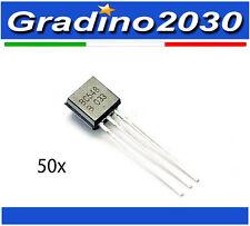 50 Pezzi - Transistor BC548 BC548B NPN TO-92