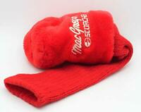 MacGregor Scorcher Red Driver Golf Headcover- Excellent Condition