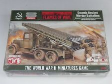 Flames of War Soviet Guards Rocket Mortar Battalion SBX07 NIB Factory Sealed