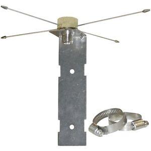 Base Ground Plane Kit for Mobile UHF VHF Omni Antenna NMO Mount to SO239 1465