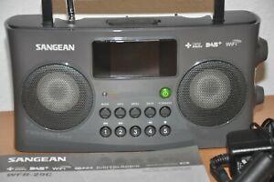 Sangean WFR-29C tragbares Internetradio DAB+/UKW-Tuner USB UPnP/DMR Music Stream