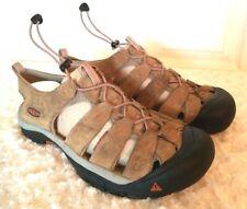 Keen Mens Size 13D Taupe Brown Nubuck Suede Outdoor Waterproof Sandals Casual