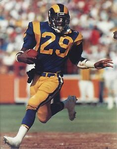 ERIC DICKERSON 8X10 PHOTO LOS ANGELES RAMS LA PICTURE NFL FOOTBALL