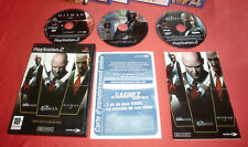 Playstation PS2 Hitman Triple Hits Collection [PAL FR] Two Slim Fat *JRF