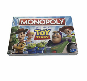 Monopoly Toy Story Board Game Family and Kids Ages 8+ NEW E5065