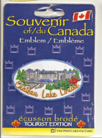 Chateau Lake Louise Banff Alberta Souvenir Patch
