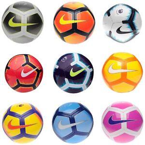 Nike 2018-2019 Pitch Volt Premier League Strike EPL Football  Ball / Pump New