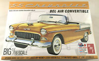 AMT 1955 Chevy Bel Air Convertible 1:16 scale model car kit new 1134
