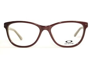 NEW OAKLEY STANDOUT 02 OX1112 BURGUNDY AUTHENTIC RX EYEGLASSES 53-16-136 MM