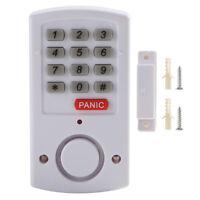 Safe Door Window Alarm Security System Home Wireless Battery Home Burglar Keypad