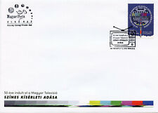 Hungary 2019 FDC Colour Television TV Transmission 50 Years 1v Set Cover Stamps