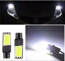 10PCs Canbus Error Free COB LED Car Wedge Lights Parking Side Tail LampT10 W5W