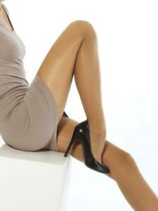Adjustable Waistband Matte Finish Pantyhose 20 Denier Tights Hosiery Total Confo