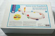 Selecta Set Meine erste Kugelbahn inkl. Schienen und Kugeln ab 1 1/2 Jahre Holz