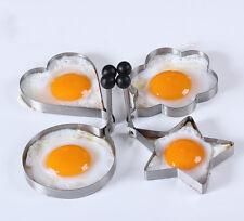 Cocina Huevo Frito Molde Antiadherente Molde Cortador Desayuno Acero Inoxidable