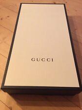 Gucci Gift Box Scatola Regalo Cartone Bianca/Nera Effetto Rigato Grande60x32x11