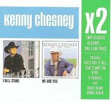 KENNY CHESNEY CD X2 I WILL STAND/ME AND YOU BRAND NEW SEALED