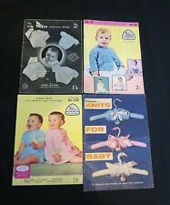 Vintage Knitting Books #2 - Babies Patterns - 1950s, 1960s, 1970s