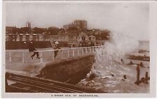 Rough Sea Scene, BROADSTAIRS, Kent RP