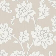 Arthouse Anya Fleur Rose Motif Papier Peint Relief Floral À Paillettes 886103