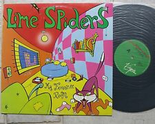 """LIME SPIDERS – My Favourite Room  12"""" Maxi  Virgin – VOZ 01612"""