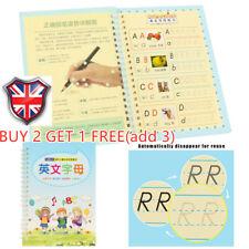 Kids Concave Magic Practice Writing Paste Children Educational Book Handwriting