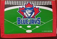 MLB Nylon Tri-Fold Wallet, Toronto Blue Jays, NEW