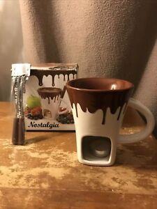 Swissmar Nostalgia Chocolate Fondue Mug Set