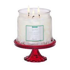 Partylite Crimson Scroll Jar Holder-P92599