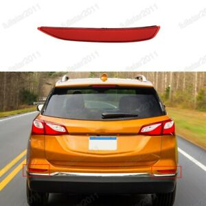 1Pcs Right Passenger Side Rear Bumper Reflector For Chevrolet Equinox 2018-2020