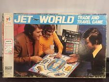 1975 Milton Bradley- Jet World Board Game-Trade and Travel Game