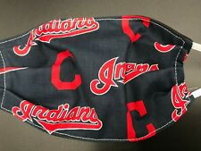 Cleveland Indians Baseball Washable Reusable Face Mask In Stock Double Layer MLB