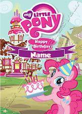 - MY LITTLE PONY - IDEAL FOR DAUGHTER PERSONALISED CHILDREN'S BIRTHDAY CARD