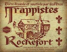 Rochefort Trappist Belgian  BEER  METAL TIN SIGN POSTER WALL PLAQUE