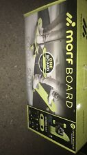 MorfBoard Lime Green and Black Color Skateboard and Scooter Combo Set New