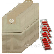 20 x Vacuum Dust Bags For Nilfisk Family GD1000 Hoover Bag + Fresh