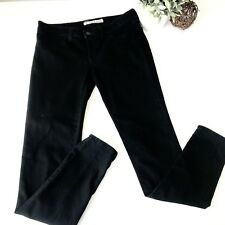 JBRAND $130 Womens 27 Black Mid Rise Skinny Ankle Jeans O7